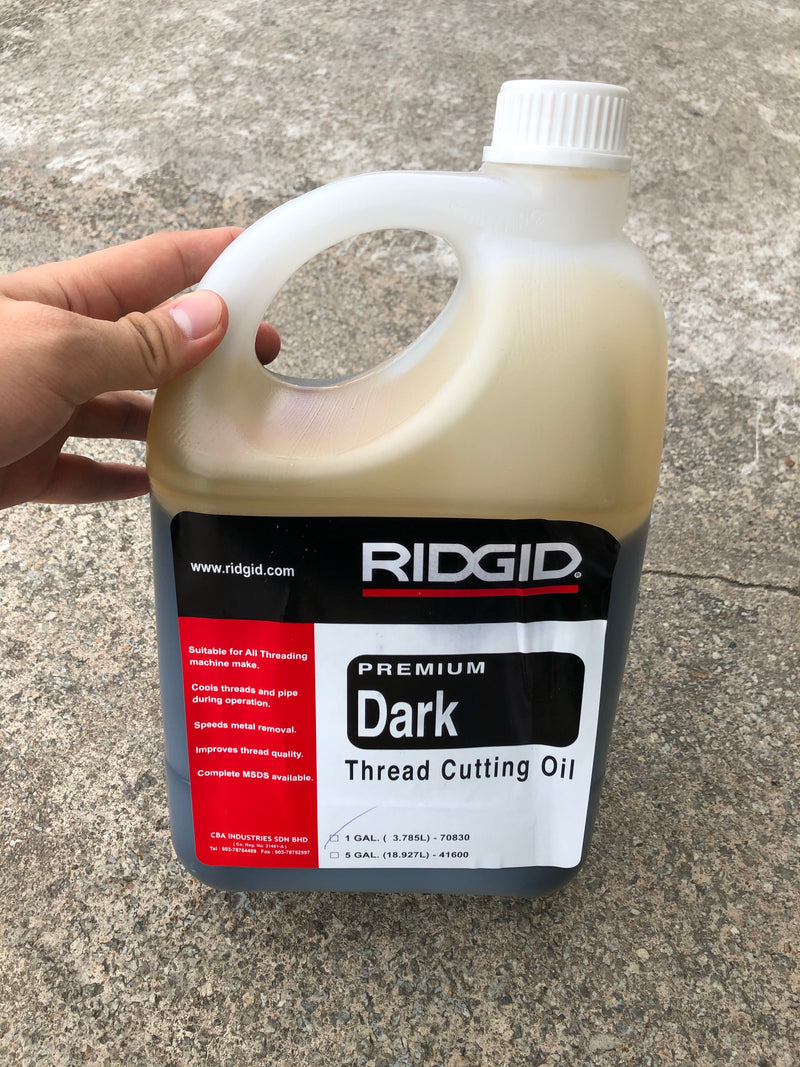Ridgid Threading Oil | Sizes : 1 Gal (3.5L), 5 Gal (18L), 55 Gal (208L) - Aikchinhin