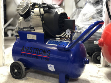 Airstrong 3Hp 50L 2 Cylinder Direct Air Compressor | Model : AS3050V - Aikchinhin
