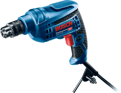 Bosch 10mm 450W Hand Drill with keyed chuck | Model : GBM 10 RE