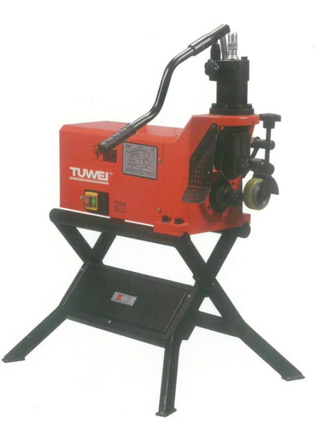 "Tuwei 1"" - 8"" Roll Grooving Machine (Groover) 
