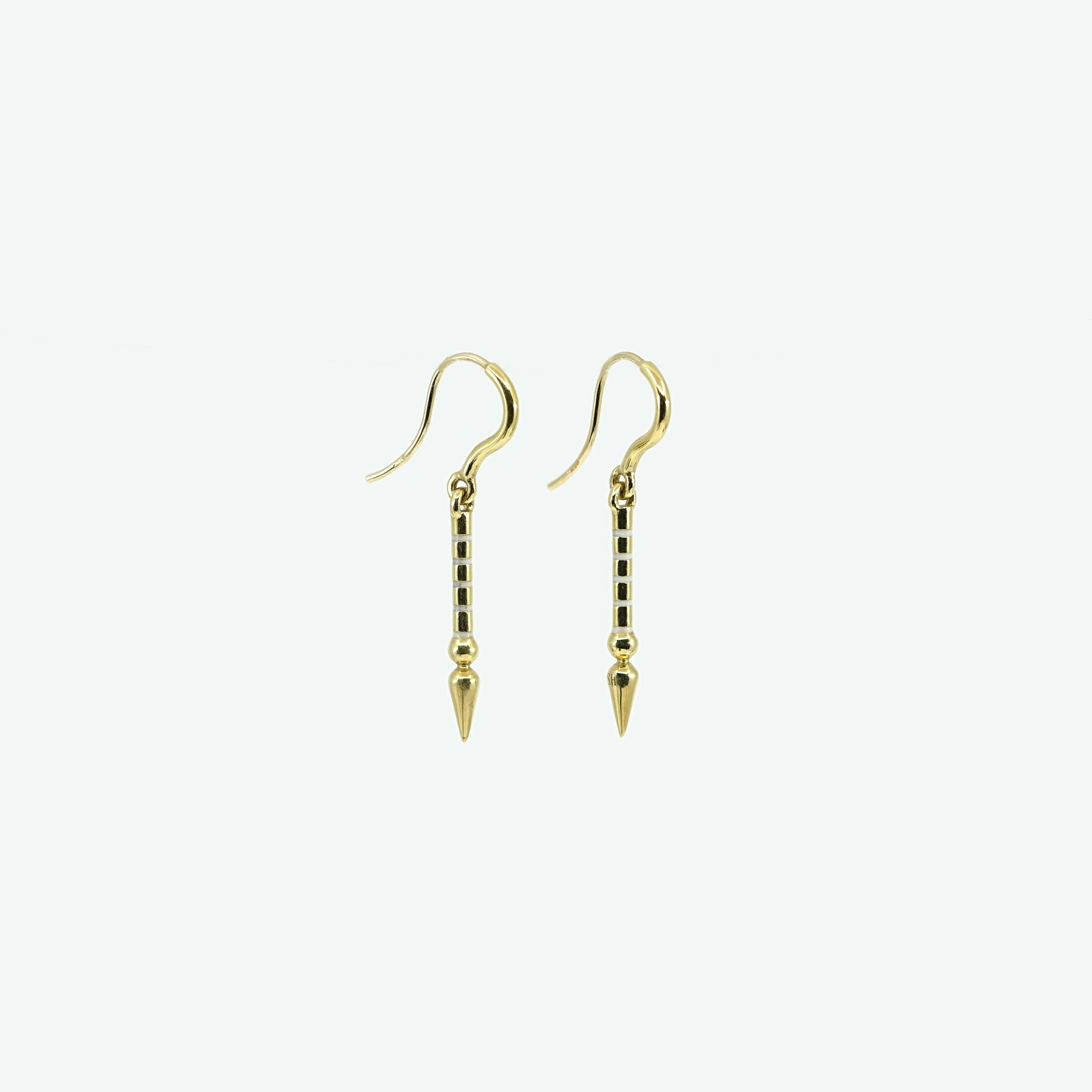 Short Spear Hook Earring