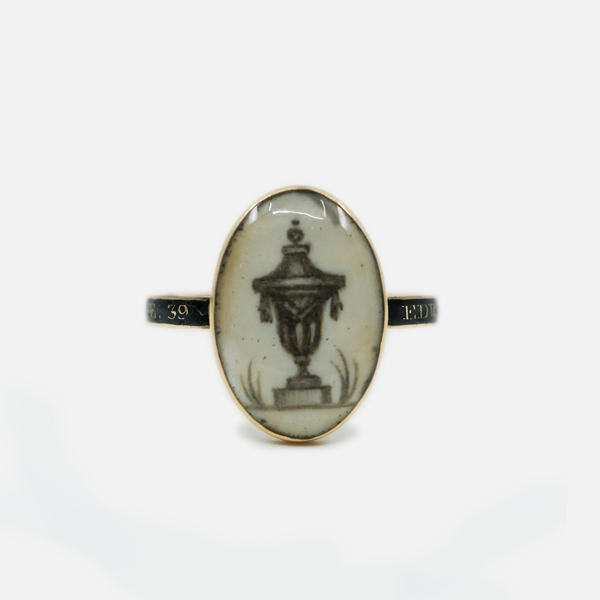 1782 Georgian Mourning Ring