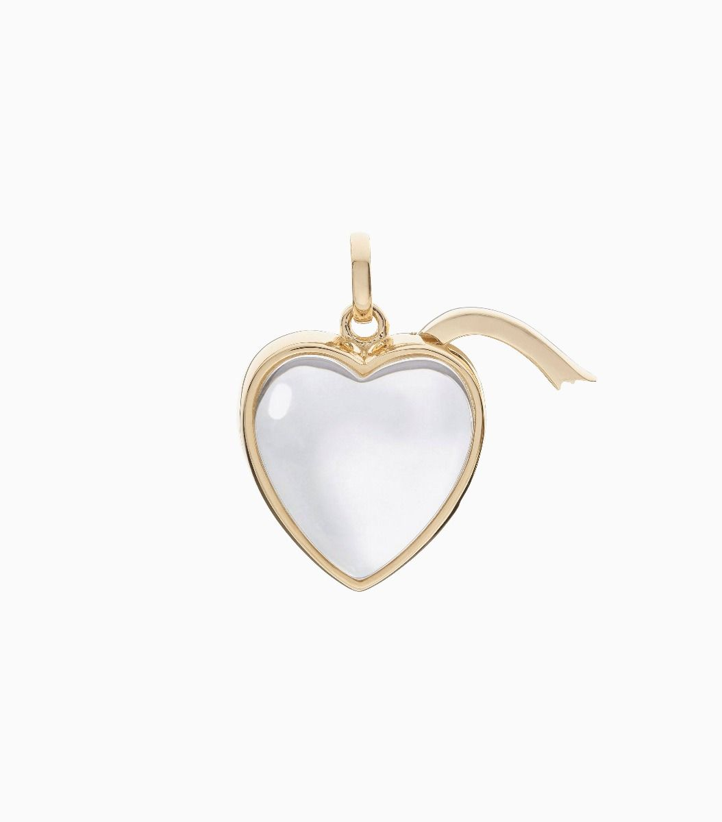 Medium Heart Locket - 14k Yellow Gold