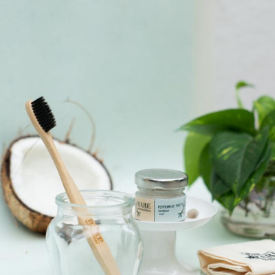 Compostable Bamboo Tooth Brush
