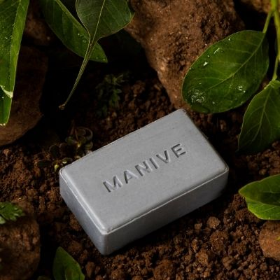 Earth Soap Bar for Men by Manive | Brown Living