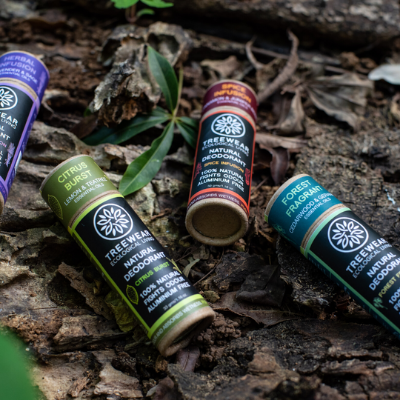 Natural Deodorant by Treewear on Brown Living