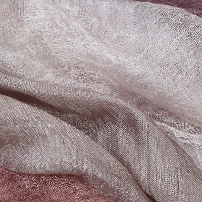 Soysilk is made from soybean residue that would otherwise be wasted during it's manufacturing