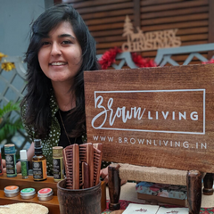 Chaitsi Ahuja - Founder of Brown Living
