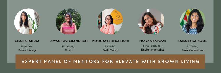 Expert Panel for Elevate With Brown Living | All Women Panel to Support Entrepreneurs in Climate Action