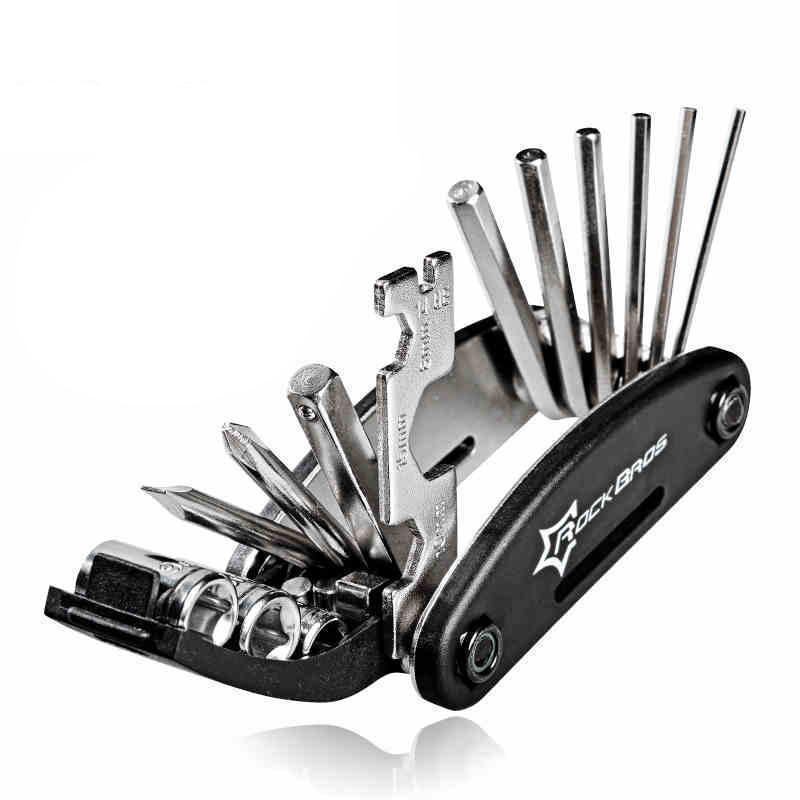 16 in 1 Bike Bicycle Multi Repair Tool Set Kit - Hex Spoke Cycle Screwdriver Tool Wrench Cycling - Ecodesignstore