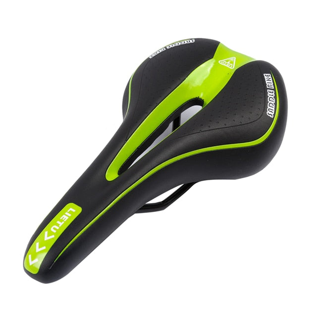 Mountain Bike Silicone Skidproof Saddle Seat with Silica Gel Cushion Cycling - Ecodesignstore