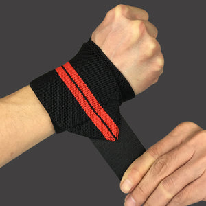 2 pieces Adjustable Wristband Elastic Wrist Wraps Weightlifting Powerlifting Breathable Wrist Support 3 Colors Health - Ecodesignstore