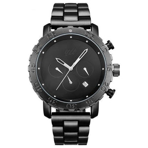Men's Waterproof Sports Watch Chronograph Stainless Steel Mens Watches - Ecodesignstore
