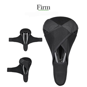Silicone Bicycle Saddle Hollow Breathable Bike Seat Cushion Cover Mat Silica gel Saddle Cycling - Ecodesignstore