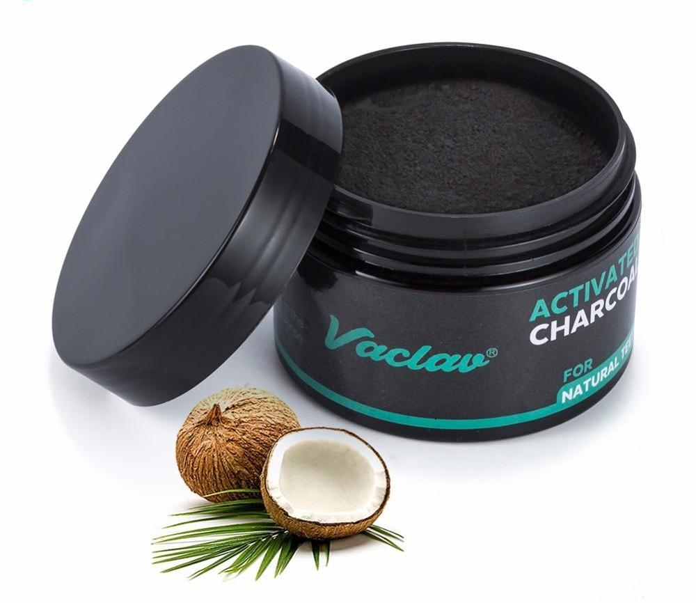 Activated Coconut Charcoal Natural Teeth Whitening Charcoal Powder  - 30g 60g for Tartar & Stain Removal Teeth Whitening - Ecodesignstore