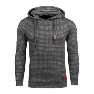 Men's Long Sleeve Solid Color Hooded Sweatshirt Men's Hoodie - Ecodesignstore