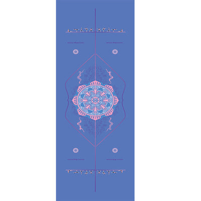 Mandala Yoga Towel 183*65 Diamond Texture Non Slip for Pilates Fitness Yoga Yoga - Ecodesignstore