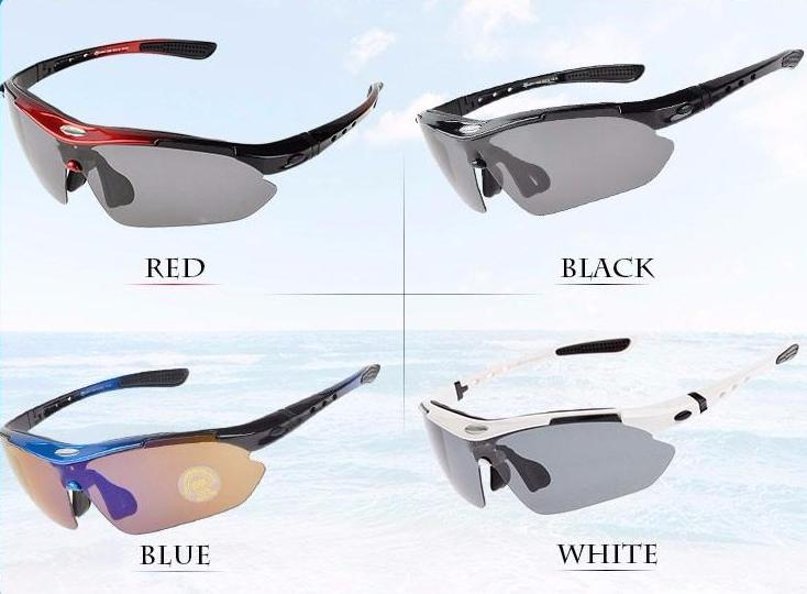 Polarized Cycling Sun Glasses 29g 5 Lens Cycling - Ecodesignstore