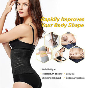 Women Body Shaper Waist Trainer Belt Steel Boned Corset - Belly Slimming Shapewear Womens Shapewear - Ecodesignstore