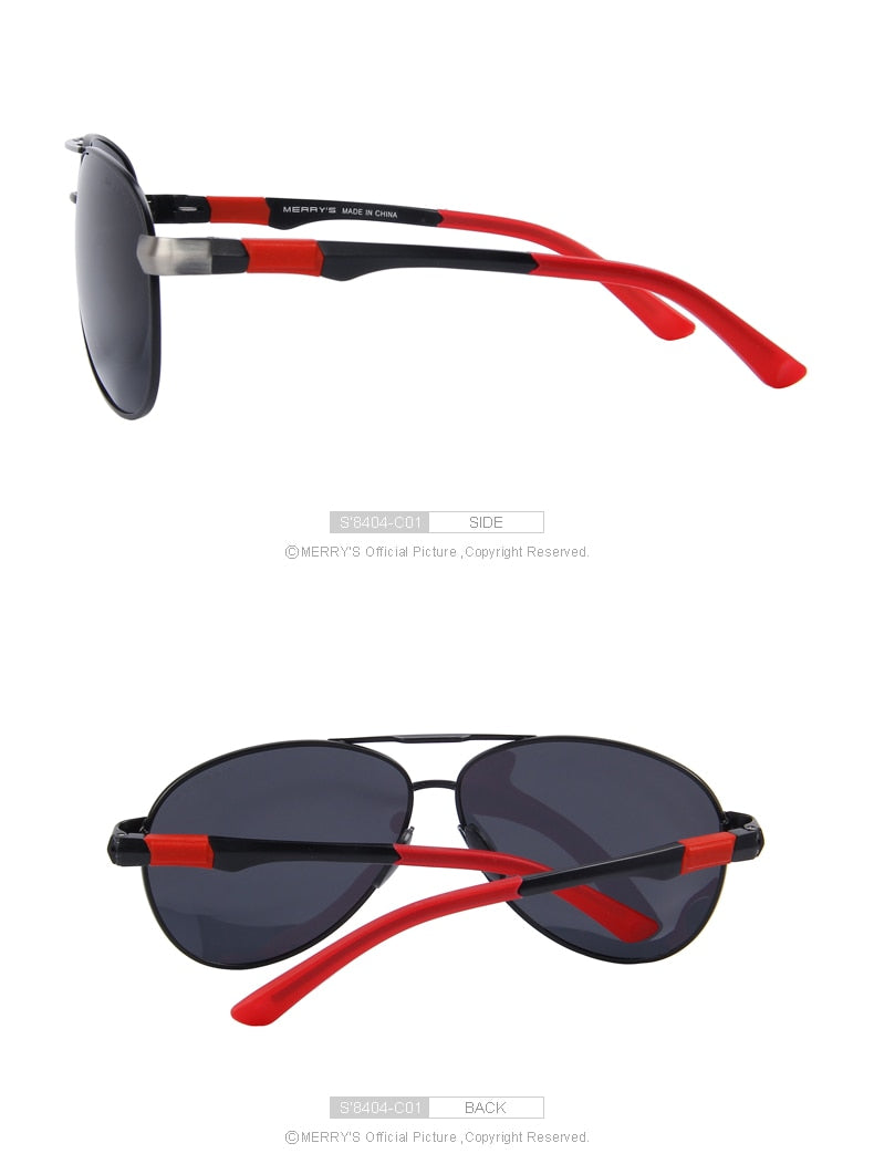 Mens HD Polarized High Quality Sunglasses With Case Mens Sunglasses - Ecodesignstore