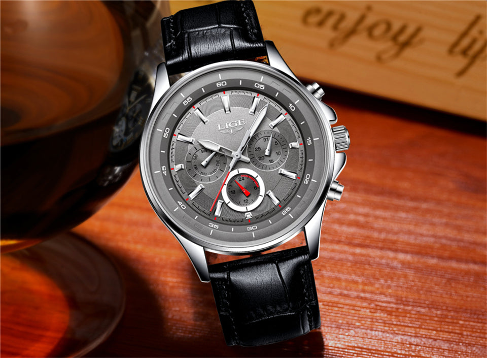 Men's Waterproof Sport Quartz Watch Mens Watches - Ecodesignstore