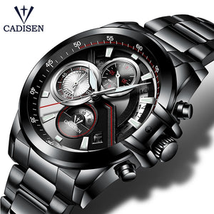 Men's Military Sports Stainless Steel Quartz Wristwatch Mens Watches - Ecodesignstore