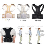 Magnetic Therapy Posture Corrector Brace - Shoulder Back Support Belt for Men Women Health - Ecodesignstore