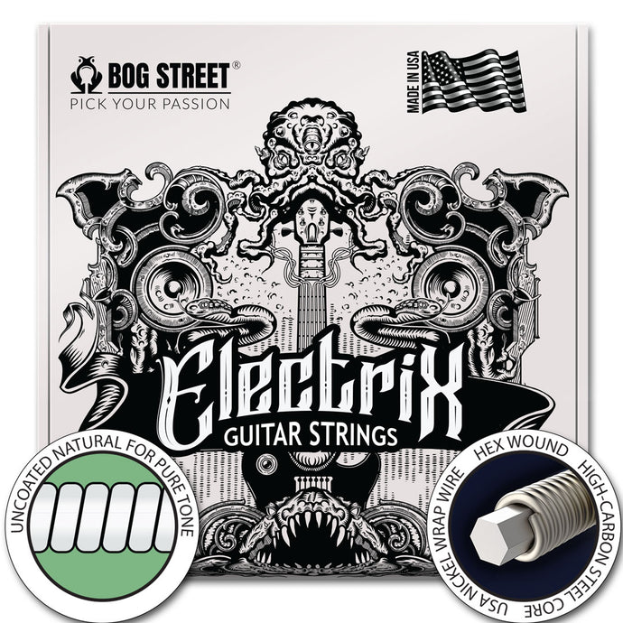Electric Guitar Strings: (6-string) - Single Pack