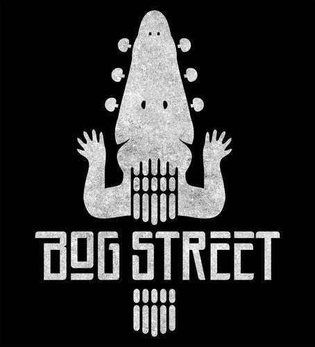 Fret Gator - Bog Street T-Shirt Design - Made in USA