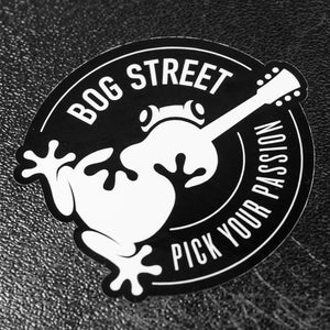 Bog Street Stickers - 4-pack