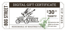 Load image into Gallery viewer, Bogstreet.com Digital Gift Card