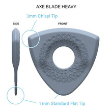Load image into Gallery viewer, NEW AXE SERIES: HEAVY MIX (Smooth-Edge) 6 Picks