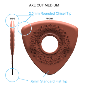 AXE CUT: MEDIUM