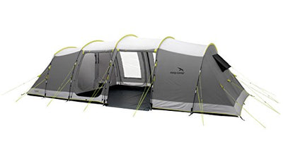 Easy Camp Unisex's Huntsville 800 Tent-Grey/Silver, 8 Persons