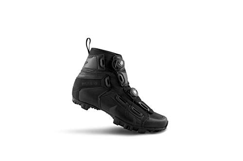 Lake Cycling 2018 Mens MX145-X Wide Mountain Cycle Shoes - Black 44