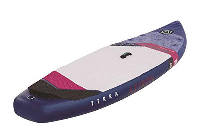 "Aztron Terra 10'6"" x 32"" x 6"" Touring Inflatable Double Chamber SUP Stand Up Paddleboard"