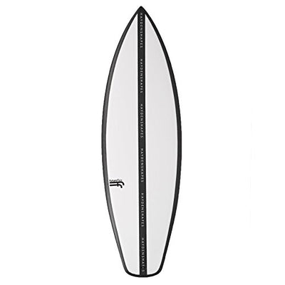 Hayden Shapes Holy Grail Future Flex FCS II Surfboard 6ft3 Clear