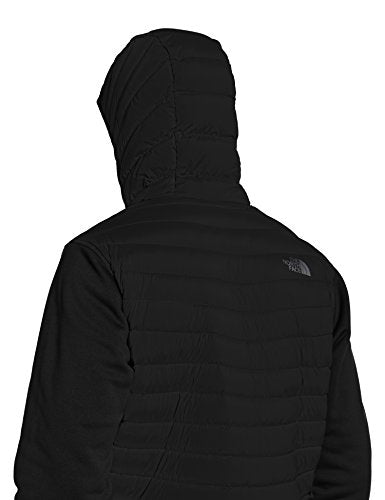 North Face Men's M Trevail Stretch Hybrid Jacket, Black/Tnf Blk/Tnf Blk, Large