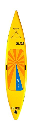 Glide O2 Quest Inflatable Standup Paddleboard, Safety Yellow, One Size