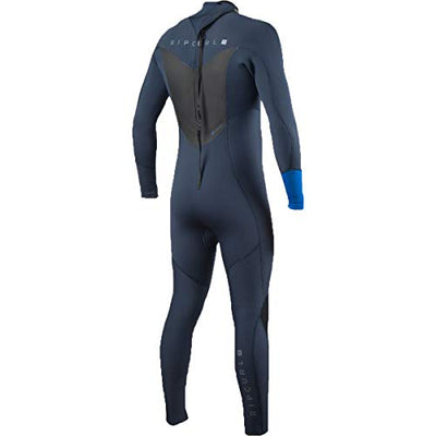 Rip Curl Dawn Patrol Back Zip 3/2 Wetsuit, Blue, Medium/Tall