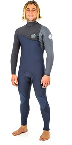 RIP CURL E Bomb Pro 5/3MM Zip Free Wetsuit Slate - Easy Stretch - Premium, high stretch tape