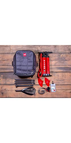 Red Paddle Co 9'6 Compact Inflatable SUP Stand Up Paddle Boarding Package - Board, Bag, Pump, Paddle & Leash/Strap - Unisex