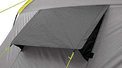 Easy Camp  Huntsville Twin Unisex Outdoor Tunnel Tent available in Grey/Silver - 4 Persons