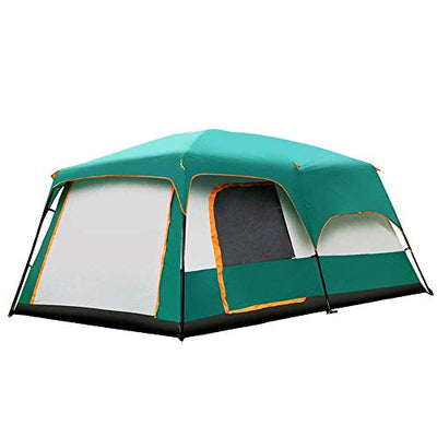 IF.HLMF Family camping tent Outdoor to large space 8-12person automatic beach party tents waterproof anti-UV Suitable for camping Travel use