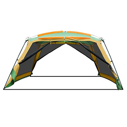 MRU Tarpaulin Outdoor Pergola Camping 8-10 People Barbecue Awning Portable Folding Beach Canopy Tent