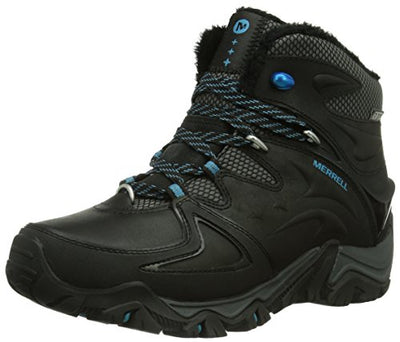 Merrell Polarand 6 Waterproof, Women's Trekking and Hiking Boots, J21126, Black (Black), 4.5 UK