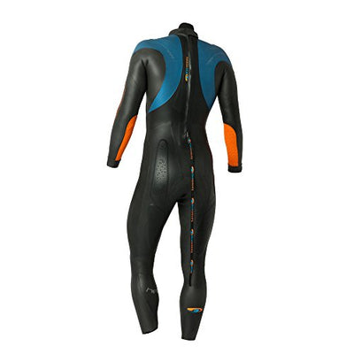 Blueseventy Helix Wetsuit, Black/Blue/Orange, MT