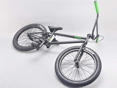 "Mafiabikes Madmain 20"" Flat Black Harry Main BMX Bike with 21"" TT"