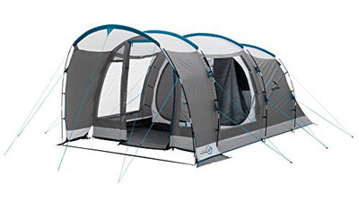 Easy Camp Unisex's Palmdale 400 Tent-Grey/Silver, 4 Persons