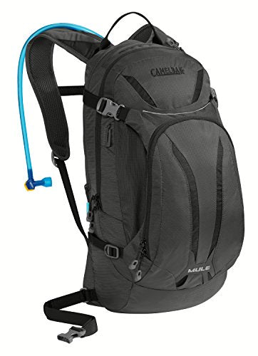 Camelbak Unisex's Men's M.U.L.E. Backpack-Charcoal, 100 oz, 12 Litre